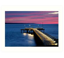 Lorne Pier, New Day, New Life Art Print