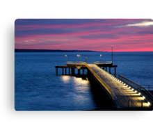 Lorne Pier, New Day, New Life Canvas Print