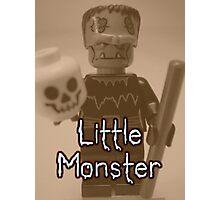 Little Monster Frankensteins Monster Custom Minifig Photographic Print