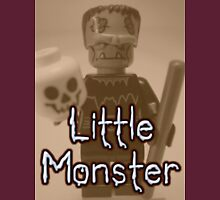 Little Monster Frankensteins Monster Custom Minifig T-Shirt