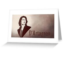 D'Artagnan Greeting Card