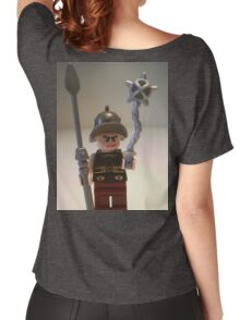 Gladiator 'Cracalla the Gladiator' Custom Minifigure Women's Relaxed Fit T-Shirt