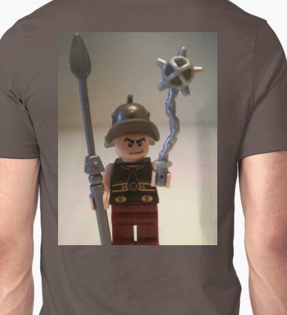 Gladiator 'Cracalla the Gladiator' Custom Minifigure Unisex T-Shirt