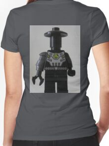Custom Cyber Droid Shadow Soldier Minifig Women's Fitted V-Neck T-Shirt