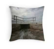Merewether Baths 5 Throw Pillow