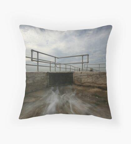 Merewether Baths 5 Throw Pillow