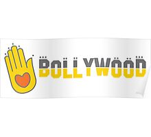Bollywood! with india hand Poster