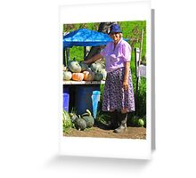Vendor Greeting Card