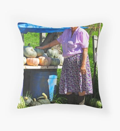 Vendor Throw Pillow