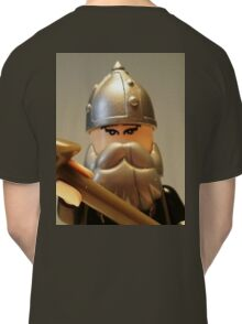 Mongolian Warrior Chief Custom Minifig Classic T-Shirt