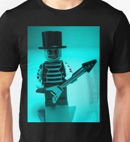 Guitarist Custom Minifigure with Guitar Unisex T-Shirt