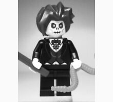 Evil Magician Custom Minifigure with Magic Wand & Snake Unisex T-Shirt