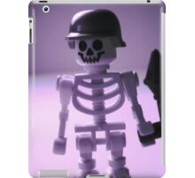 Skeleton Army Custom Minifigure Helmet & Bazooka iPad Case/Skin