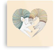 Love sleep Metal Print