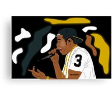 Jay Z- The Performance Canvas Print