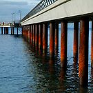 Rusty Pylons,Lorne Pier by Joe Mortelliti