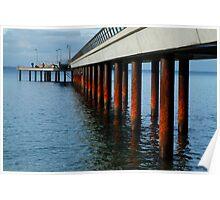 Rusty Pylons,Lorne Pier Poster