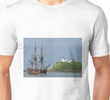 THE ENDEAVOUR REPLICA SAILING SHIP Unisex T-Shirt