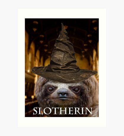 Slotherin Art Print