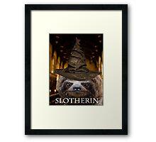 Slotherin Framed Print
