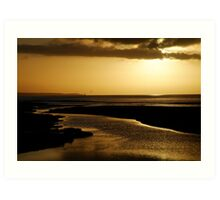 Erskine River and Split Point Art Print