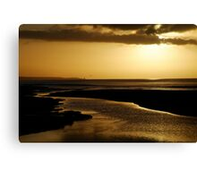 Erskine River and Split Point Canvas Print