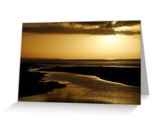 Erskine River and Split Point Greeting Card