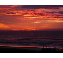 SUNRISE AT VALLA BEACH AUGUST 2ND. Photographic Print