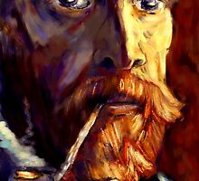 Vincent van Gogh in Sunlight by saleire
