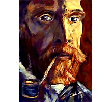 Vincent van Gogh in Sunlight Photographic Print