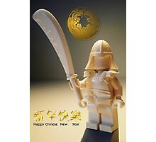 Happy Chinese New Year Greeting Card Photographic Print