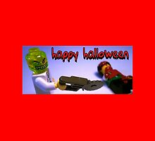 """Happy Halloween"" Custom Halloween Dr Toxic Minifigure by Customize My Minifig"