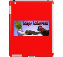 """Happy Halloween"" Custom Halloween Dr Toxic Minifigure iPad Case/Skin"