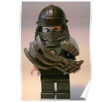 TMNT Teenage Mutant Ninja Turtles Master Shredder Custom Minifig Poster