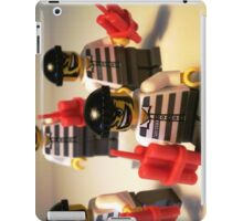 Convict Prisoner City Minifigure with Dynamite Sticks iPad Case/Skin