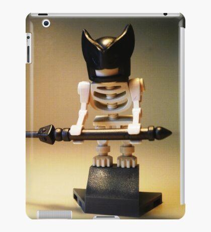 Egyptian God Anubis Skeleton Statue Custom Minifig iPad Case/Skin
