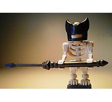 Egyptian God Anubis Skeleton Statue Custom Minifig Photographic Print