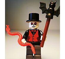 Voodoo Priest / Witch Doctor Zombie Custom Minifigure Photographic Print