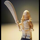 Ching Dynasty White Ghost Warrior Statue Custom Minifig by Customize My Minifig