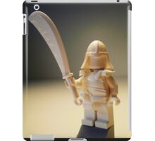 Ching Dynasty White Ghost Warrior Statue Custom Minifig iPad Case/Skin