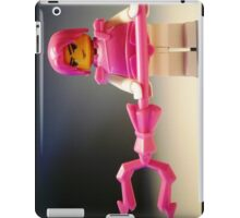 Pink Chinese Hero Warrior Custom Minifig iPad Case/Skin