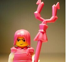 Pink Chinese Hero Warrior Custom Minifigure, by 'Customize My Minifig' by Chillee
