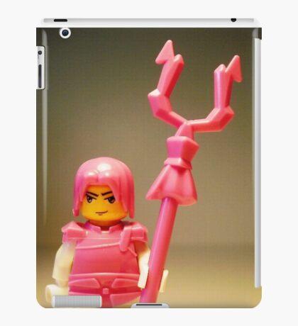 Pink Chinese Hero Warrior Custom Minifig iPad Case/Skin