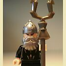 Mongolian Warrior Chief Custom Minifig by Chillee