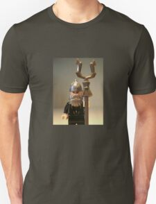 Mongolian Warrior Chief Custom Minifig Unisex T-Shirt