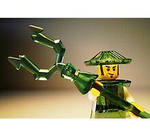 Ching Dynasty Chinese Warrior Custom Minifigure Photographic Print