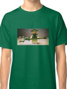 Ching Dynasty Chinese Warrior Custom Minifigure Classic T-Shirt