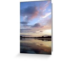 Reflective Dreams Greeting Card