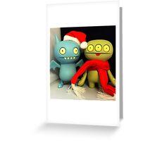 Ice-Bat & Cinko Xmas Greeting Card