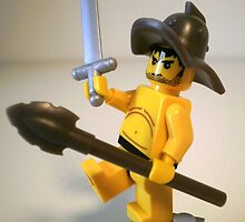 """Spartcacus The Gladiator """"No I'm Spartacus !!!""""  by Customize My Minifig"""